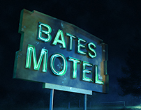 Bates Motel - Making the Neon Sight