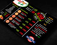 Diseño de imagen para Cadena de pizzas en México (2011)