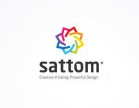 Sattom logotypes