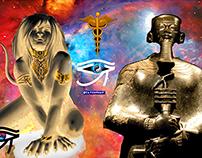 Ptah and Sekhmet