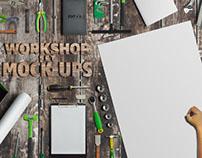 Workshop Tool Set Mock-Ups