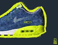 Polygonal Nike Air Max
