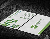Corporate Embosed Business Card V1.0
