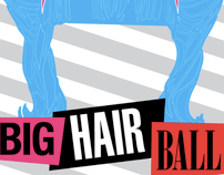 Signature Theatre's BIG HAIR Ball Invitation