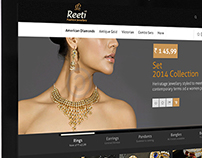 fashion jewellery website design