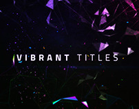 Vibrant Titles - After Effects Template Videohive
