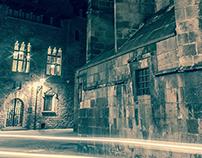 Barcelona gothic night