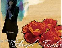 Angel Taylor Concert Poster
