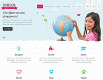 Responsive School WordPress Theme Corporate | Download