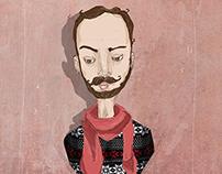Emir Aksoy - identity design