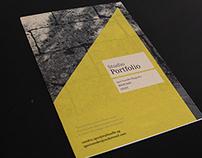 Studio Portfolio booklet