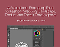 Retouching Panel - Photoshop CC2014 Available!