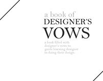 Designer's Vows
