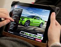 Mustang Customizer / Digital Campaign