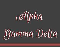 Alpha Gamma Delta newsletter 2
