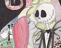 Tim Burton Illustrations