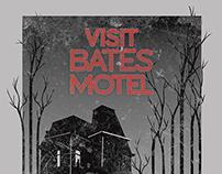 Bates Motel Travel Poster