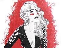 Leather Jacket Illustrations