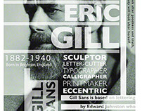 Eric Gill Poster