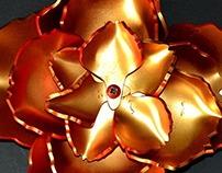 Flor de acrílico/Acrilyc Flower