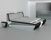 Concept of a bedroom