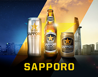 Sapporo Redesign Website