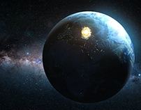 Meteor Hit Earth Space FX Pack