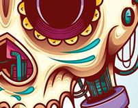 Modern sugar skull @2014