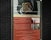 Business & Commercial loans-flyer design
