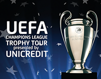 UEFA Champions League Trophy Tour by UniCredit Bank