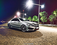 Mercedes Benz CLA ≠ Anthracite Metallic Matte