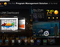 Smart TV - Mobile - Touch Project Management Solution
