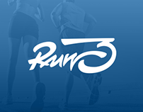 Run3 logo design