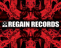 Regain Records Postcard