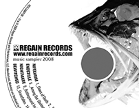 Regain Records Music Sampler 2008