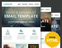 E-Newsletter - Multipurpose Email Template