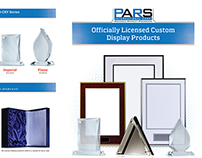 PARS's brochure template for custom display products