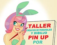Taller de ilustración pin up