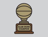 NBA Slam Dunk Contest poster