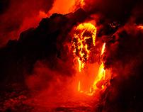 Hawaii Lava, Kalapana