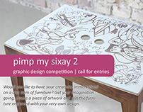 pimp my sixay2 - graphic design award