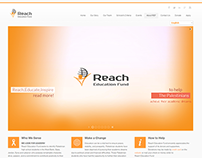 Reach Education Fund Website