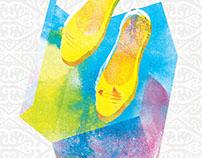 Book Cover : Sepatu Emas buat Inang