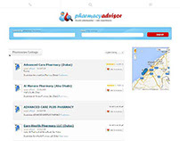 Pharmacy Advisor Portal