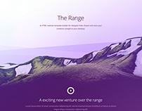 The Range - Free PSD Template