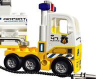 Lego Duplo Airport Rescue Truck