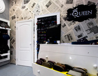 Rebrending of shop, To be Queen, Moscow, 2011