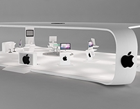 APPLE EXHIBITION PROJECT made in 3d max 2010 and VRAY