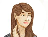 Erica Character Design