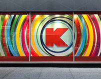 Kmart NYC Penn Station Animated Windows